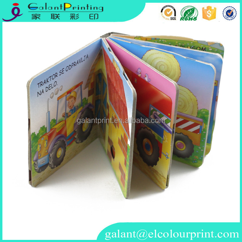 Wholesale Thick Cardboard Book Pinting Service/ Perfect Blinding Printing Book