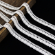 Crochet Bobbin Cotton Lace Trims For Wedding Dresses Women