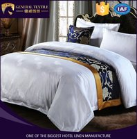 Luxury Hotel Bedding Sets Duvet Cover Set Bed Linens (Queen, 1 Duvet Cover+1 Flat Sheet +2 Pillowcases)