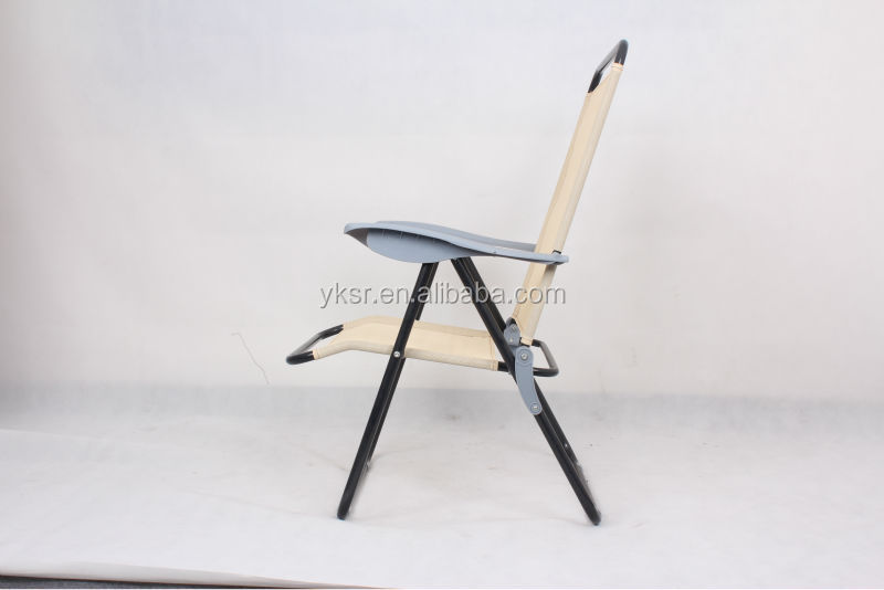 hot sale cheap metal folding adjustbale chair
