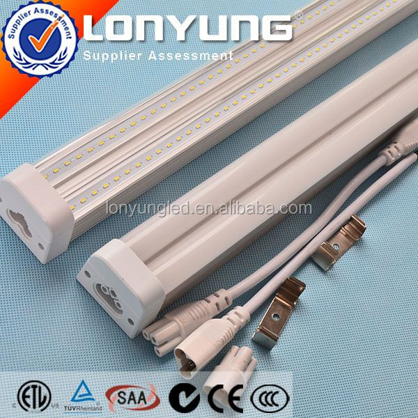AC100-277V 2ft-8ft 8w-60w t5 40w circular fluorescent tube T5 LED Integrative Double Tube