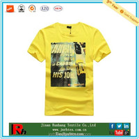 100 Cotton Mens Crewneck Tees, Custom T-Shirt Printing