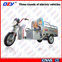 User-friendly design china energy saving enclosed electric tricycle