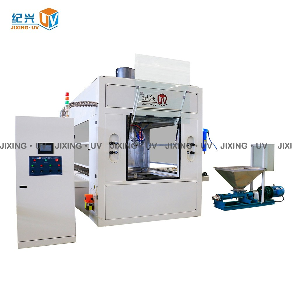 Top-Coat Spraying Machine for exterior wall