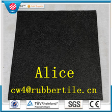 interlocking outdoor deck tiles/gym rubber floor tiles/Playground rubber tiles