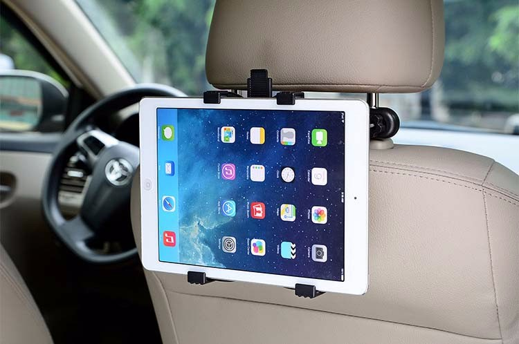 7-11 inch Universal Tablet PC Car Back Seat Holder 360 Degree Rotating Angle Adjustable Bracket Support For Tablet PC Notebook