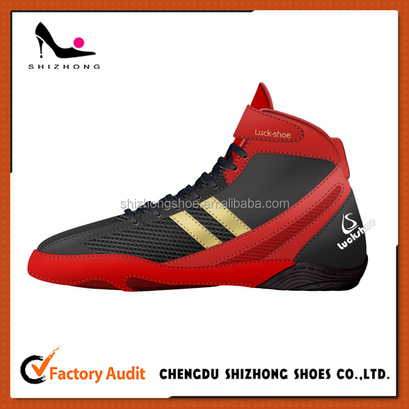 2016 Men's Low top custom made boxing shoe most popular design