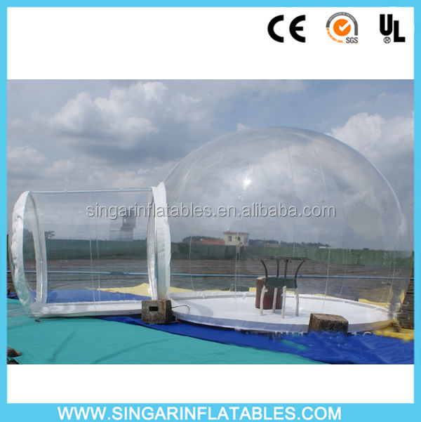 Good quality inflatable event tent,inflatable planetarium tent,bubble tent