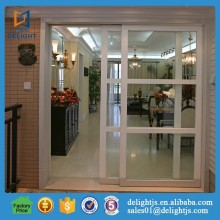 Aluminum sliding glass door for residential room