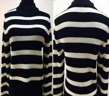 fashion women stripe styling lady fashion design hot sales regular wool sweater solft fabric
