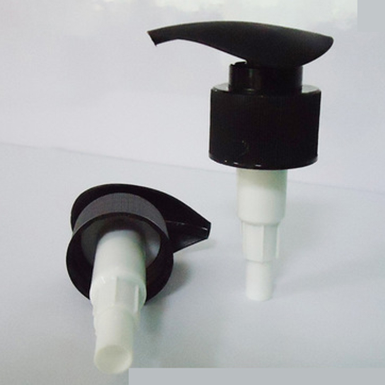 Childproof plastic soap dispenser pump with 2cc dosage