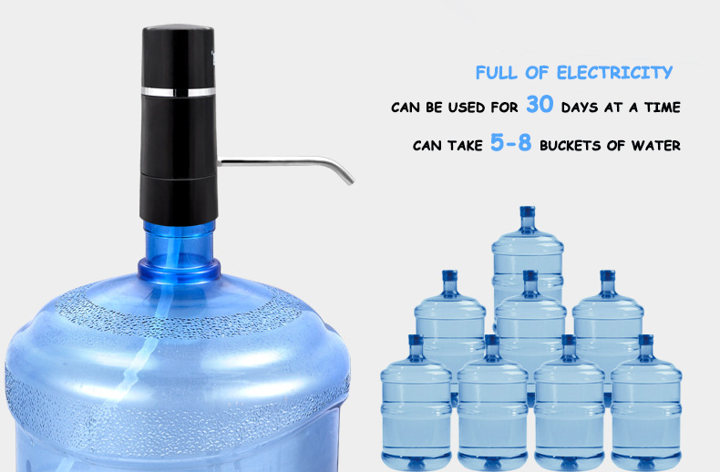 Portable Mini Electric Wireless Drinking Cold Water Dispenser Spare Parts for 5 Gallon Water Dispenser