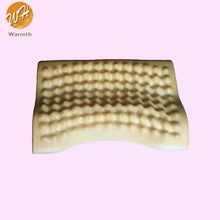 Memory foam massage pillow