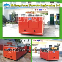 Automatic Small autoclaved aerated concrete block making machine AAC
