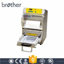 Great performance semi automatic plastic food containers sealing machine