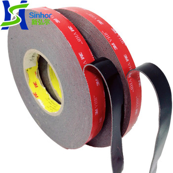 Strong Double-sided Tape Black VHB 3M Foam Tape with Cheap Price