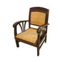 Indonesia teak bamboo chair furniture