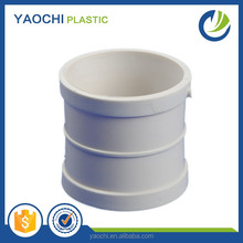 High quality GB standard water drainage fitting white pvc coupling with good price