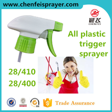 Custom trigger sprayer head sprayer pump any color 28 400 triger sprayer plastic for home & garden