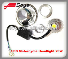 New Arrival!!!Super Bright LED Motorcycle Headlight 20W