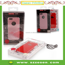 acrylic plastic packaging boxes for iphone case covers