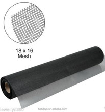 Insect screen mesh colored fiberglass fly screening