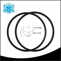 China wholesale cheap high strength durable bicycle wheel rims