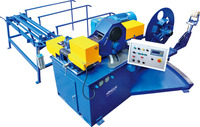 HJTF1602 Reasonable price spiral tube end forming machine for ventilation