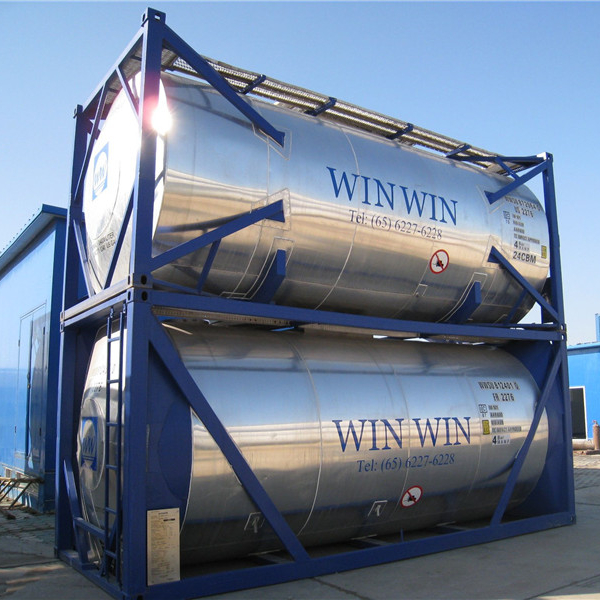 Food-grade tank shipping <strong>container</strong> for sale