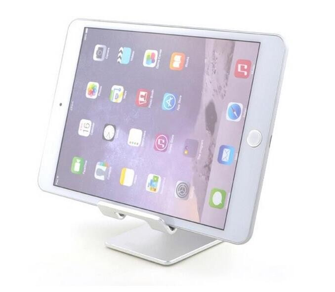 Hot Selling Desktop Cell Phone Stand, Portable Aluminum Smartphone Holder Tablet Cradle