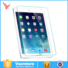 9H highest quality scratch resistant Tempered glass screen protector for iPad 6,remove air bubbles screen protector for iPad 6