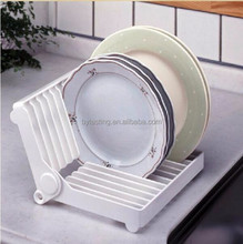 Foldable Kitchen Dish Drying Rack Plate Drainer Holder Organizer Storage
