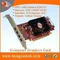 OEM AMD ATI Radeon HD 6570 PCIe 4 Mini Display ports Low Profile DDR3 2GB Multiscreen graphic card