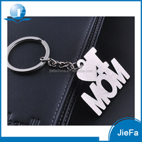 High quality promotional gift cheap price metal custom word letter keychain