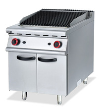 (#700) Commercial High Quality Electric Barbecue Vertical Grill With Lava Rock With Cabinet(OT-896D)