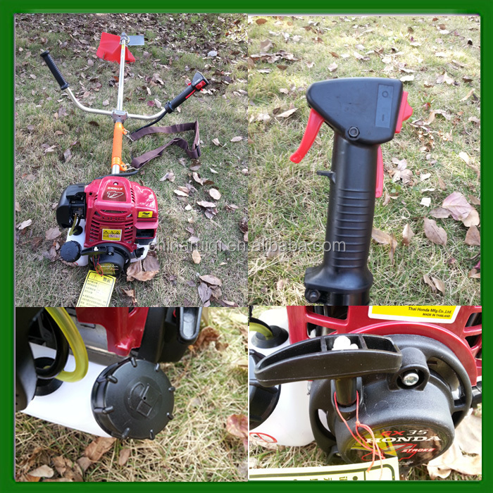 Hot Sale 4 Stroke Grass Cutter 35.8cc Brush Cutter with CE Certificate
