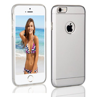 Cellphone accesories armor metal hard cover for iphone 6 waterproof shockproof case
