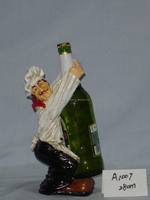 Restaurant decoration Newly resin chef trophy figure statues,resin statues chef designs
