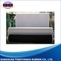 Rubber mat roll, Natural foam rubber roll material, Mouse pad roll material