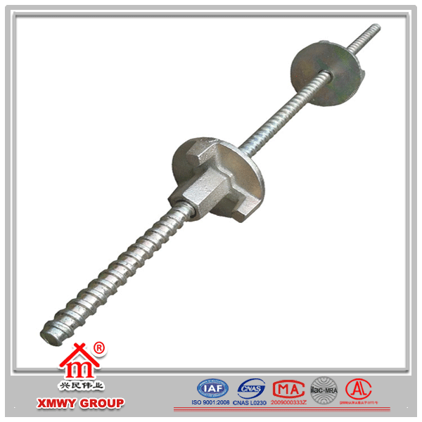 CHINA Tie Rod & Nuts used in construction concrete wall formwork system