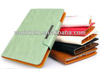 Cute wallet Leather Case for iPad mini