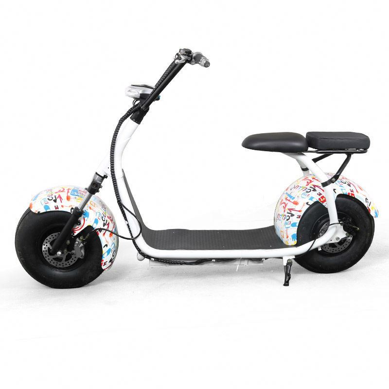 60v 800w 1000W cityCoco woqu wolf cheap seev citycoco lithium battery scooter/electric fat bike/snow scooter