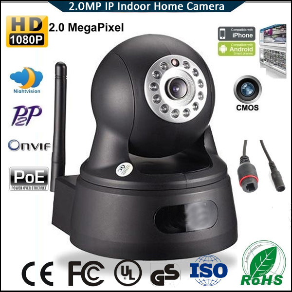 10M IR outdoor easy installation 2.0 megapixel HD ip camera Wireless Web Security Camera JM-Eye01A