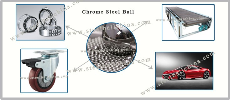 SUJ-2 AISI52100 100Cr6 GCr15 Precision Steel Ball / Chrome Steel Ball Bearing Steel Ball