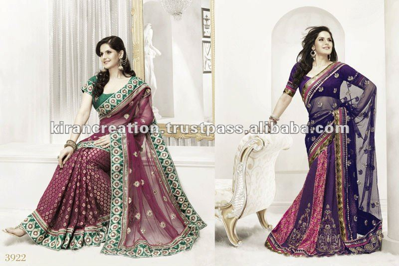 Bollywood replica border Design saree