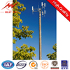 conical HDG 16m electricity pole for power transmission