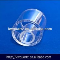 clear thick wall quartz glass tubing from kaiwang quartz manufacture