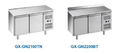 stainless steel ventilated refrigerated kitchen preparation table