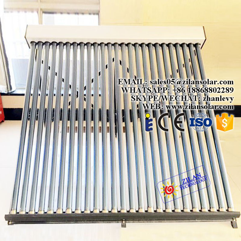 18tubes nonpressurized solar collector sun collector for heating