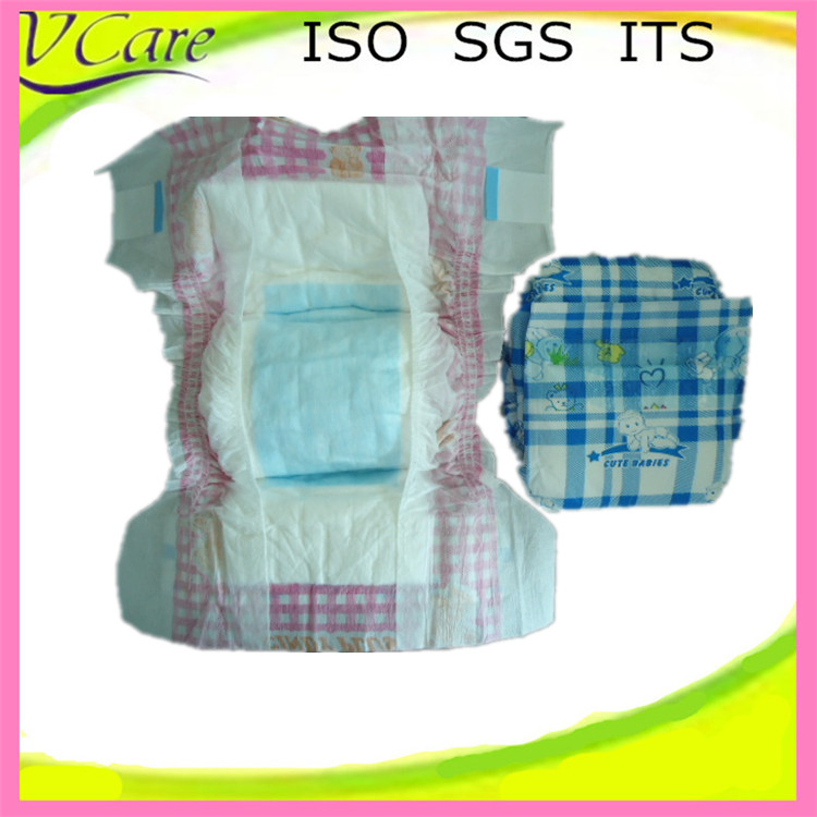 Economical disposable sleepy comfortable baby diapers in bales